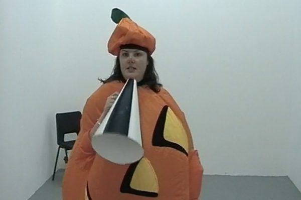 Pissed off Pumpkin performance for camera with Victoria Melody