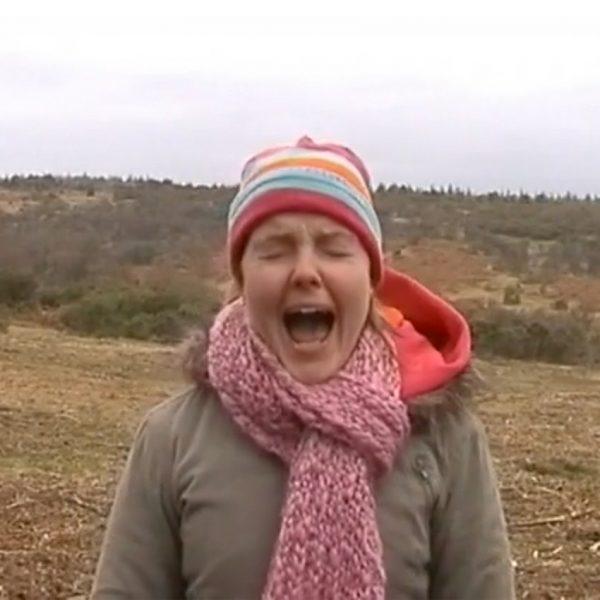 Hill Screams film still of Victoria Melody
